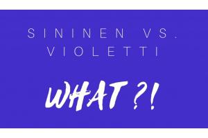 Blue vs. Purple - pieni opas violettishampoon maailmaan