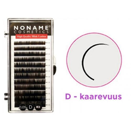 Noname Cosmetics D-Volyymiripset 8-15 / 0.05