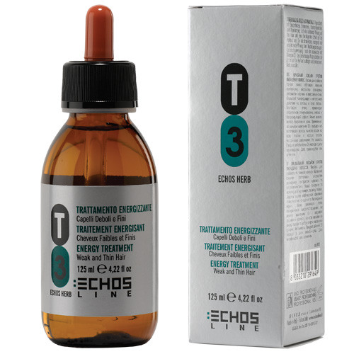 Echosline T3 Energy hiusvesi 125 mL