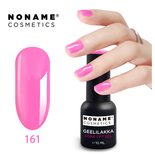Noname Cosmetics #161 3-vaihe geelilakka 10 mL