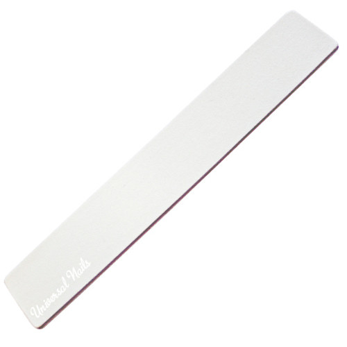 Universal Nails 100/180 XL leveä suora valkoinen kynsiviila