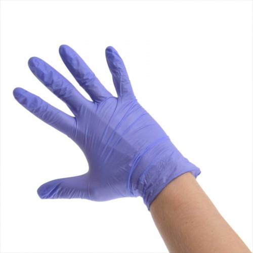 Unigloves Violet Pearl Nitriilikäsineet M 100 kpl