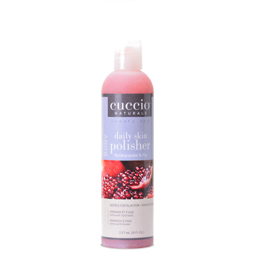 Cuccio Naturalé Daily Skin Polisher Pomegranate & Fig hellävarainen kuorinta 237 mL