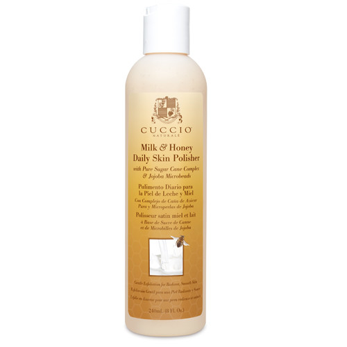 Cuccio Naturalé Skin Polisher Milk & Honey hellävarainen kuorinta 236 mL