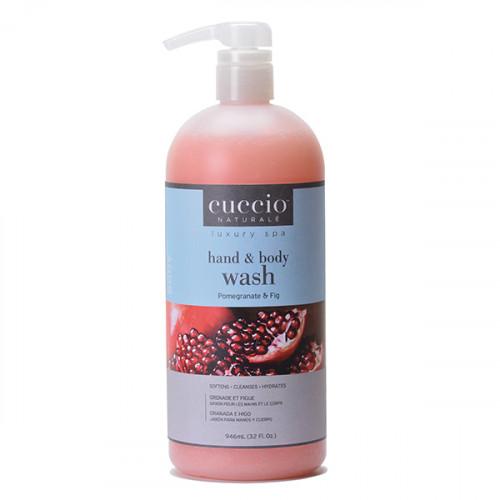 Cuccio Naturalé Pomegranate & Fig Hands & Body Wash kuoriva käsi- ja vartalosaippua 960 mL