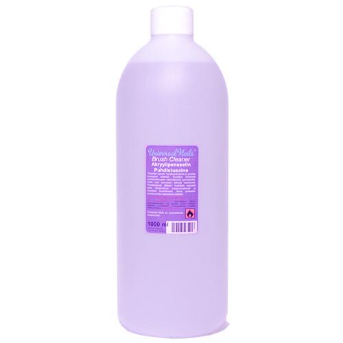 Universal Nails Brush Cleaner Akryylipensselin puhdistusaine 1000 mL