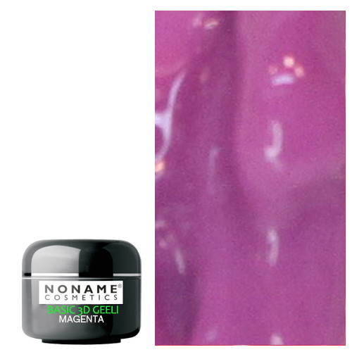 Noname Cosmetics Magenta 3D Basic UV geeli 5 g