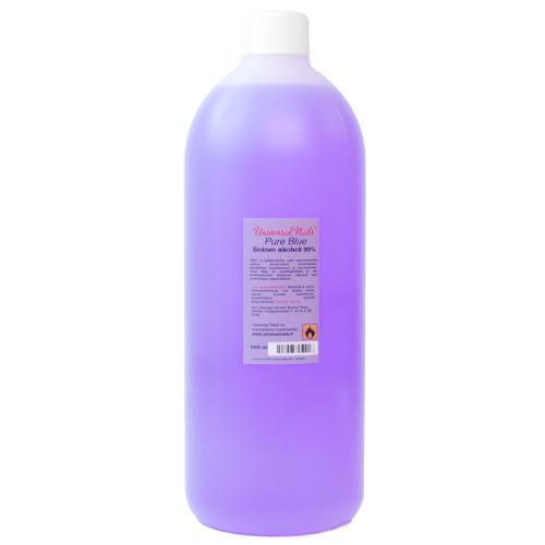 Universal Nails Pure Blue 99% alkoholi 1000 mL