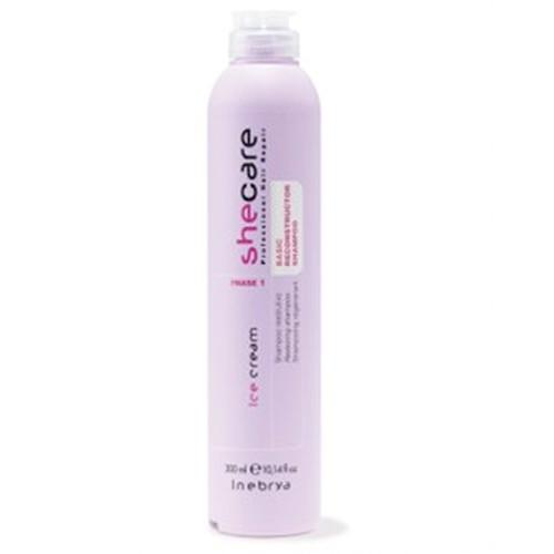 Inebrya Ice Cream Shecare Reconstructor shampoo 300 mL