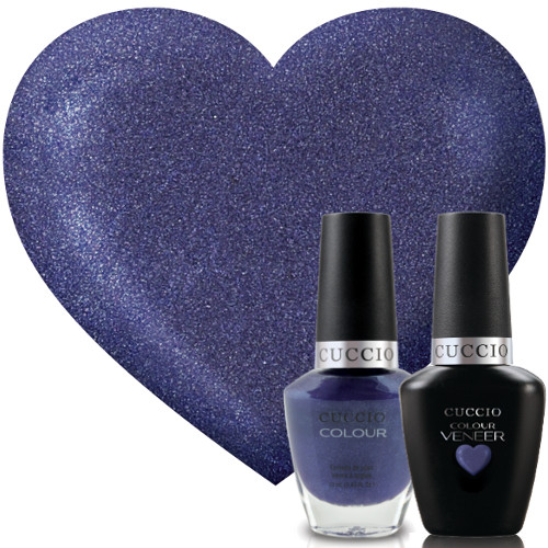 Cuccio Veneer Purple Rain In Spain Match Makers geelilakkasetti 2 x 13 mL