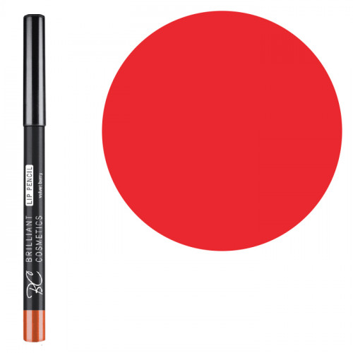 Brilliant Cosmetics True Red 02 Lip Pencil rajauskynä