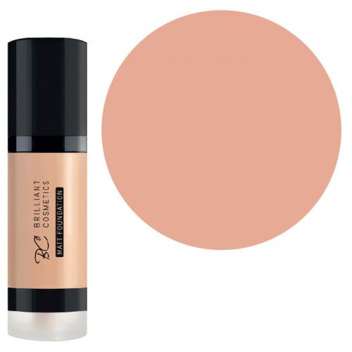 Brilliant Cosmetics Almond 01 Matt Foundation meikkivoide 30 mL