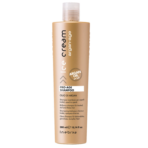 Inebrya Ice Cream Pro-Age Argan shampoo 300 mL