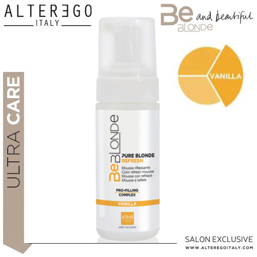 Alter Ego Italy Be Blonde Refresh Vanilla vaahto 150 mL