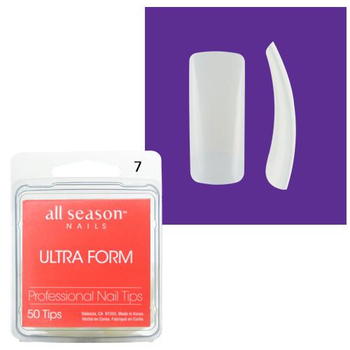 Star Nail Ultra Form Tipit täyttöpakkaus koko 7 50 kpl