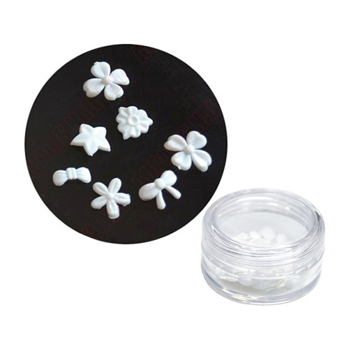 Noname Cosmetics Valkoiset muovikukat 20 kpl