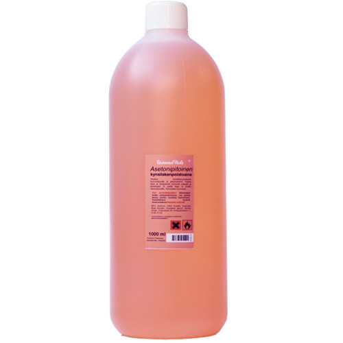 Universal Nails Asetonipitoinen kynsilakanpoistoaine 1000 mL