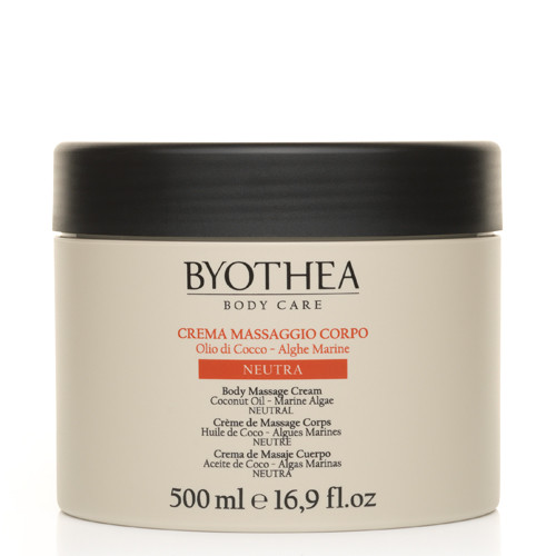 Byotea Neutral Massage Cream Coconut & Algae hierontavoide 500 mL