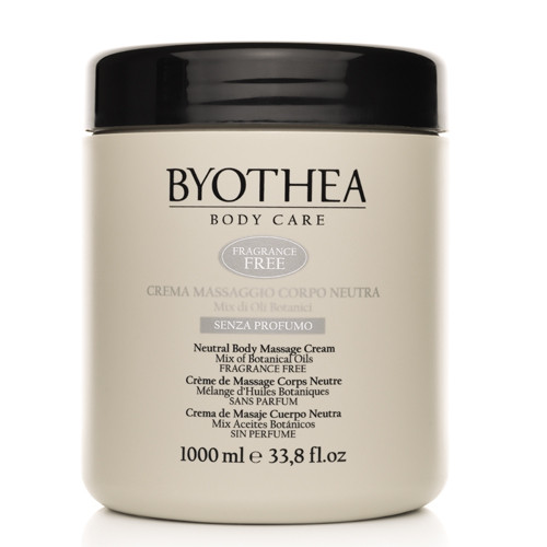 Byotea Fragrance Free Neutral Massage Cream hierontavoide 1000 mL