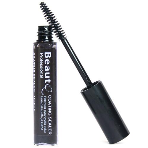 BeautQ Professional Musta Coating Sealer ripsipidennyksille 10 mL