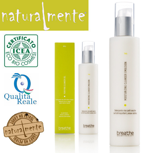 Naturalmente Breathe Moisturizing Cleanser Emulsion puhdistusemulsio 200 mL