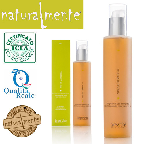 Naturalmente Breathe Purifying Cleanser Gel puhdistusgeeli 200 mL