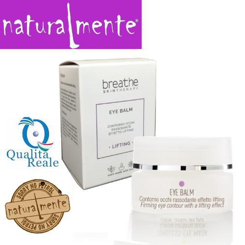 Naturalmente Breathe Lifting Treatment Eye Balm kiinteyttävä silmänympärysgeeli 15 mL