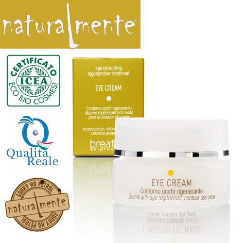 Naturalmente Breathe Age Correcting Regenerating Eye Cream silmänympärysvoide 15 mL