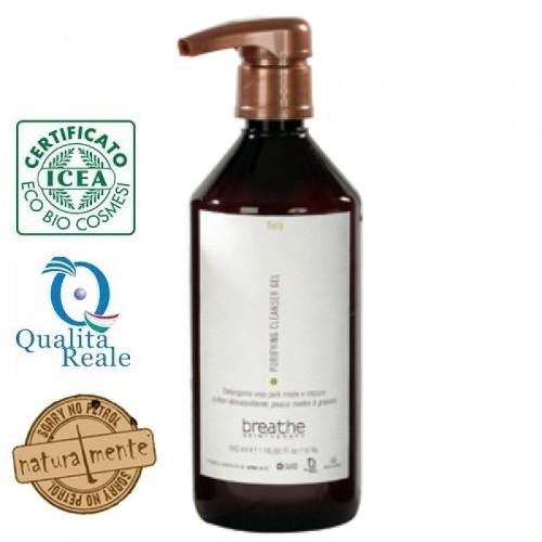 Naturalmente Breathe Purifying Cleanser Gel puhdistusgeeli 500 mL
