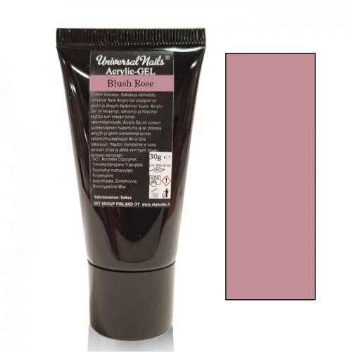 Universal Nails Acrylic-Gel UV/LED Blush Rose polygeeli 30 g