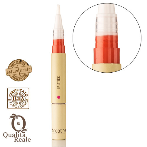 Naturalmente Breathe Lip Stick Huulipuna Sävy 4 Orange 2 mL