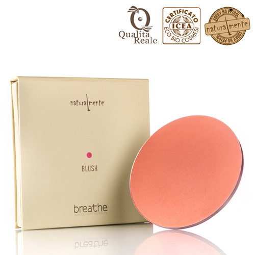 Naturalmente Breathe Blush Poskipuna Sävy 2 Sunset Matt 9 g