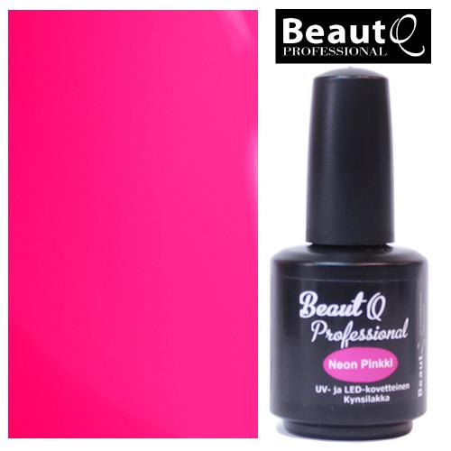 BeautQ Professional Neon Pinkki geelilakka 12 mL
