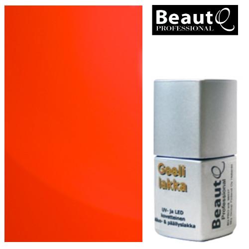 BeautQ Professional Neon Koralli geelilakka 12 mL