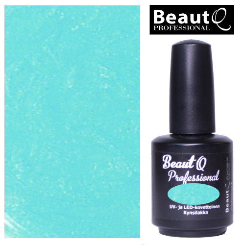 BeautQ Professional Karibian Metalli geelilakka 12 mL