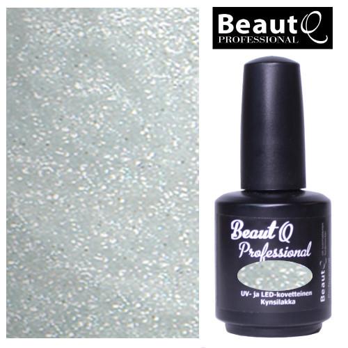 BeautQ Professional Valkohopea geelilakka 12 mL