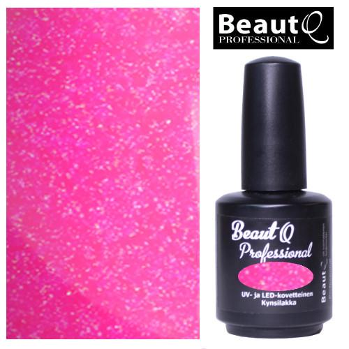 BeautQ Professional Pinkki Helmiäinen Geelilakka 12 mL
