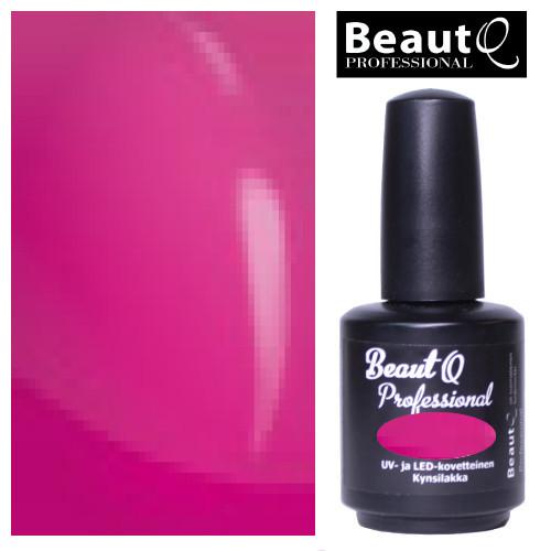 BeautQ Professional Pinkki geelilakka 12 mL