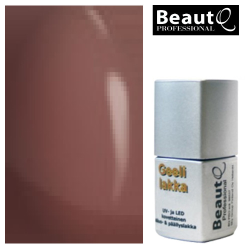 BeautQ Professional Tumma Nude geelilakka 12 mL