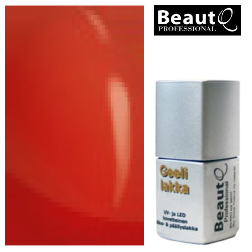 BeautQ Professional Puhdas Punainen geelilakka 12 mL