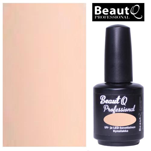BeautQ Professional Luonnollinen Pinkki geelilakka 12 mL
