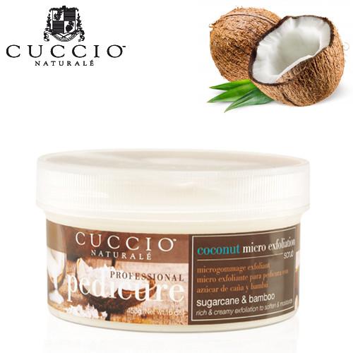 Cuccio Naturalé Coconut & White Ginger Micro Exfoliation Scrub kuorintavoide 453 g