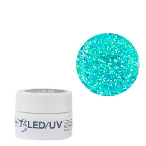 Cuccio Blue Bling T3 LED/UV Self Leveling Cool Cure geeli 7 g