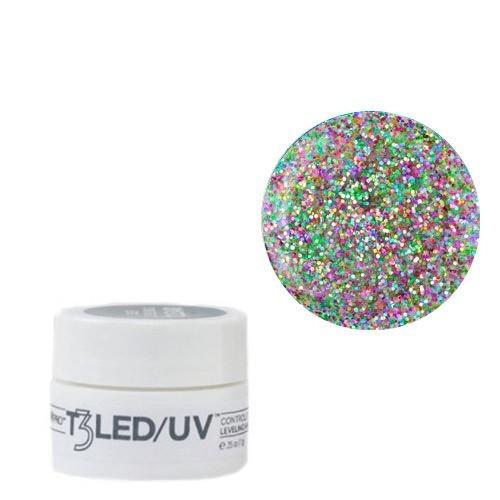 Cuccio Keke's Glitter T3 LED/UV Self Leveling Cool Cure geeli 7 g