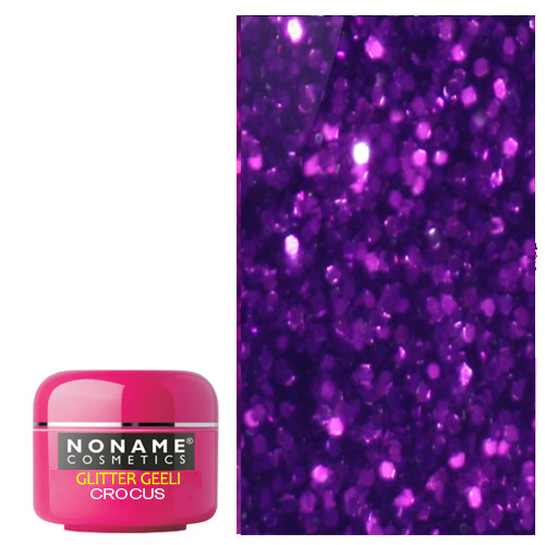 Noname Cosmetics Crocus Glitter UV geeli 5 g