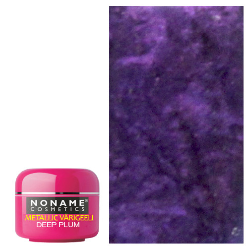 Noname Cosmetics Deep Plum Metallic UV geeli 5 g
