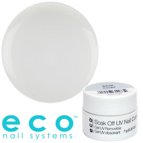Eco Nail Systems Kirkas Eco Soak Off alus/rakennusgeeli 7 g