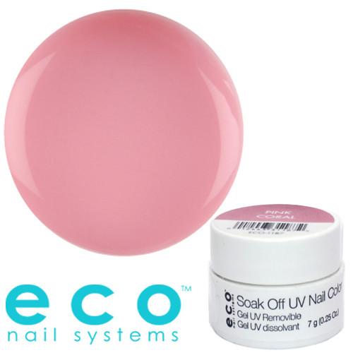 Eco Nail Systems Pink Coral Eco Soak Off geelilakka 7 g