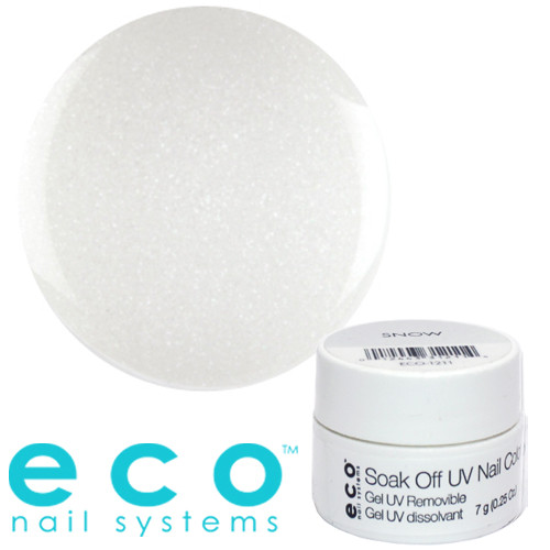Eco Nail Systems Snow Eco Soak Off geelilakka 7 g