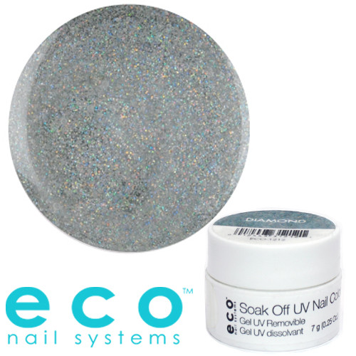 Eco Nail Systems Diamond Eco Soak Off geelilakka 7 g